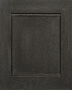 Liberty Reversed Raised Panel Door Style with Cobblestone Stain Finish on Quarter Sawn White Oak