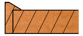 Burlington Decorative Slab Edge Profile