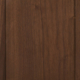Omaha Door Style with Leather Brown Stain on Walnut Wood