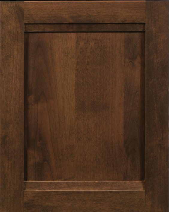 Wakefield RRP Door with Roasted Almond Stain on Alder Wood