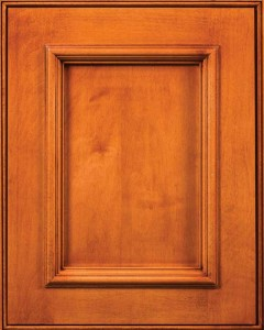 Arlington Flat Panel Door Style with Acorn Stain on Maple Wood
