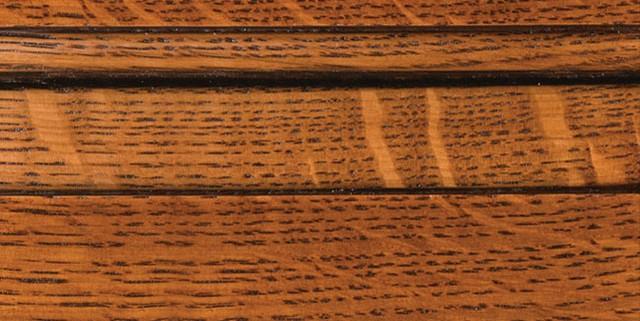 Auburn with Bold Coffee Shadow on Qtr Sawn Oak