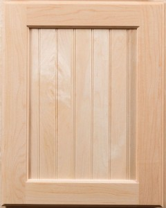 Boardwalk Door with Natural Finish on Maple