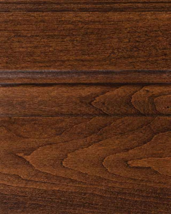 Saddle Brown Stain on Cherry or Alder Wood