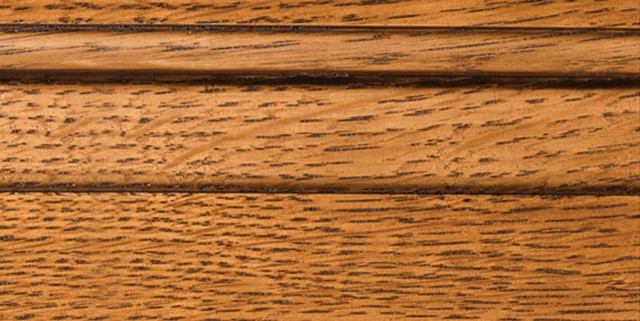 Colonial with Bold Brown Shadow on Qtr Sawn Oak