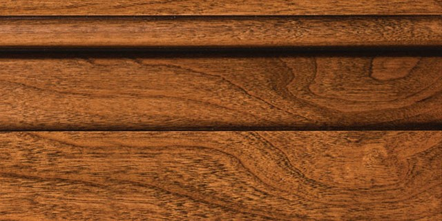 Colonial with Bold Brown Shadow on Cherry Alder