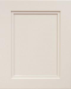 Empire Flat Panel Door Style with Egg Shell Enamel on Maple Wood