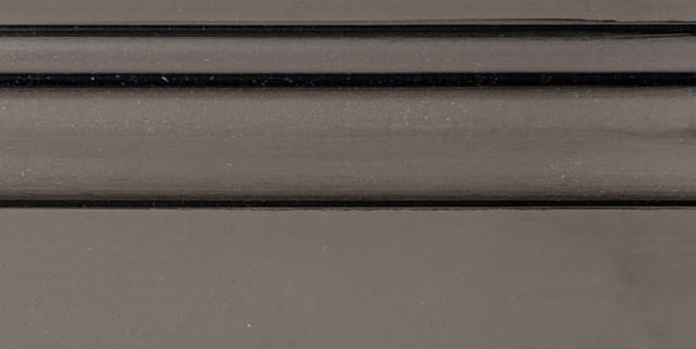 Flagstone Enamel with Bold Black Shadow on Maple Wood