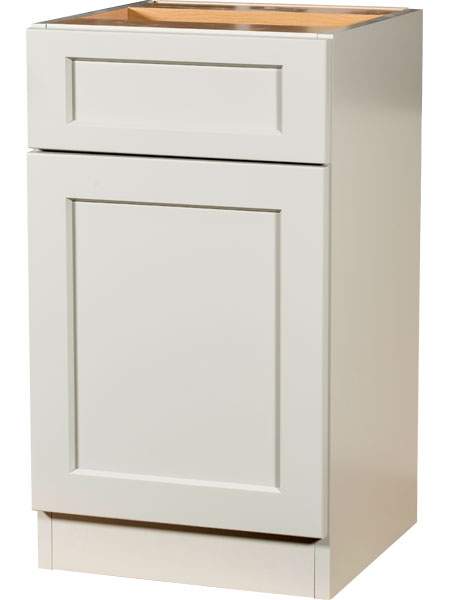 White Full Access Cabinet