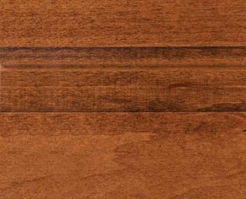 Auburn Stain on Maple Wood