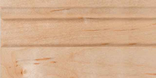 Natural Finish on Maple Wood