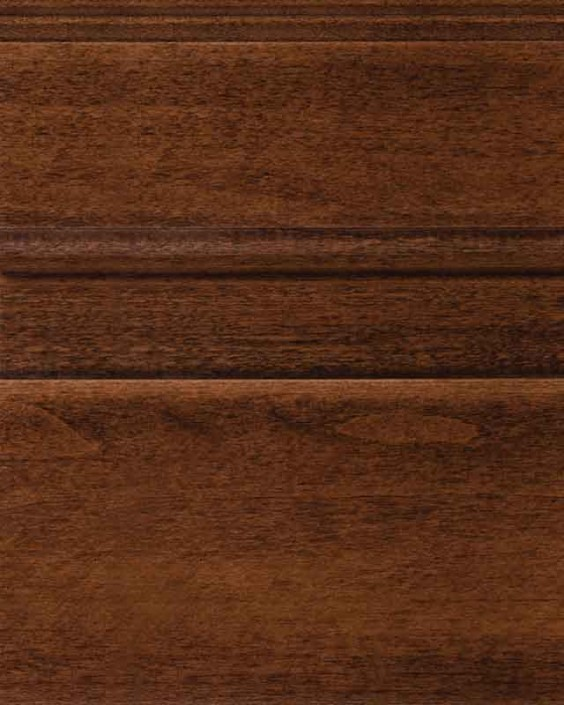Saddle Brown Stain on Maple Wood