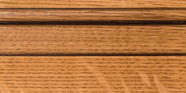 Natural with Bold Brown Shadow on Qtr Sawn Oak