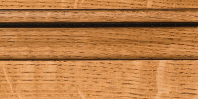 Natural with Bold Coffee Shadow on Qtr Sawn Oak