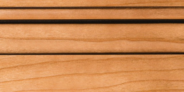 Natural with Bold Coffee Shadow on Cherry Alder