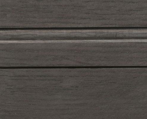 Charcoal Stain on Quarter Sawn White Oak
