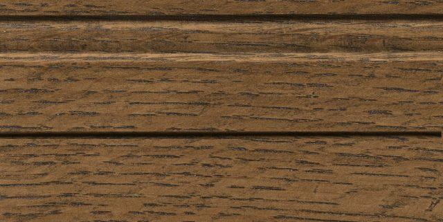 Roasted Almond Stain on Quarter Sawn White Oak