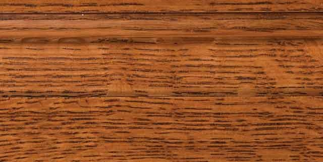 Auburn Stain on Quarter Sawn White Oak Wood