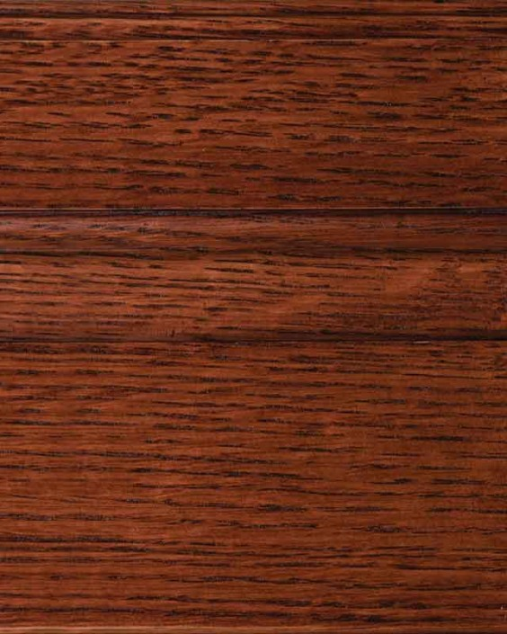 Cordovan Stain on Quarter Sawn White Oak Wood