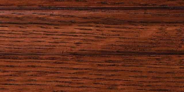 Cordovan Stain on Quarter Sawn White Oak Wood