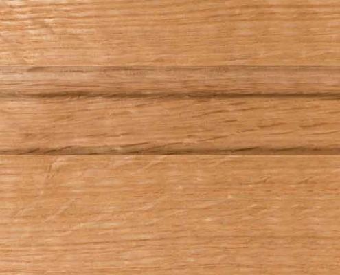 Natural Finish on Quarter Sawn White Oak Wood