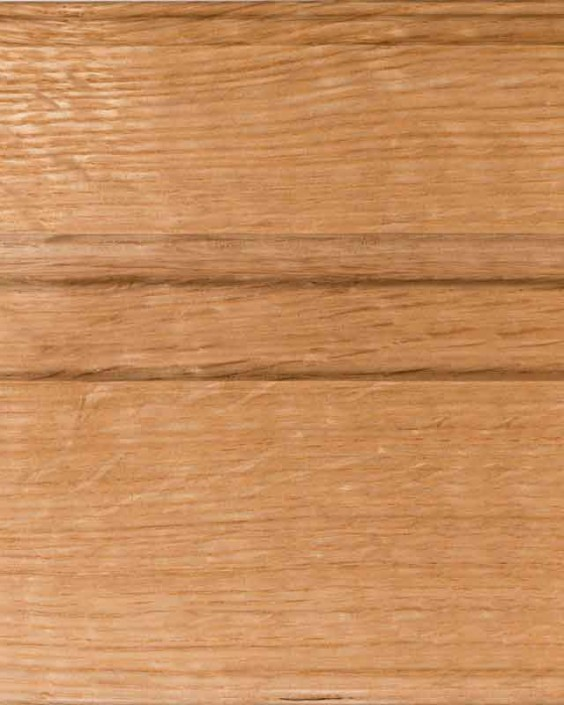 Natural Finish on Quarter Sawn White Oak Wood