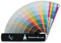 Sherwin-Williams Enamel Color Fan Deck