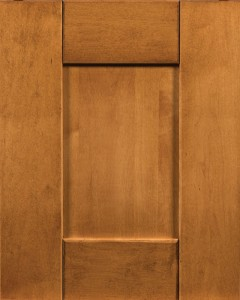 Upland IV Door Style with Cider Stain (discontinued in 2017) on Maple Wood