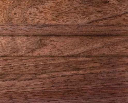 Natural Finish on Walnut Wood
