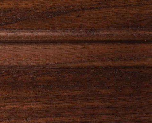 Saddle Brown Stain on Walnut Wood