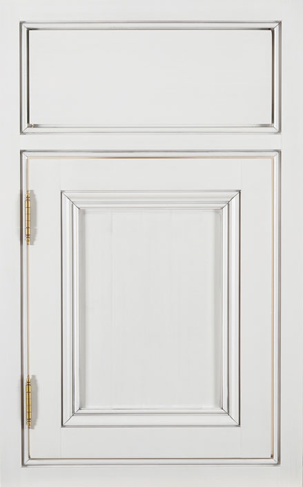 Beaded Inset   Tedd Wood Custom Only. White Full Access Cabinet