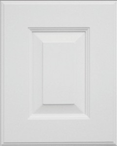 White House Door Style on White MDF