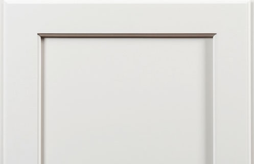 Full Overlay shown with Yellowstone Door, Graystone Enamel on Maple